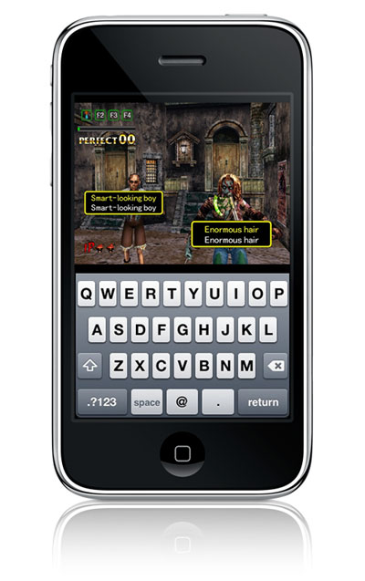 Typing of the Dead.... on iPhone?