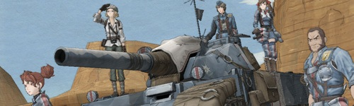 Valkyria Chronicles, purty.
